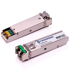 SFP, 1.25 Gbps GigE, DDM, 80km 1550nm, 24dB, SM/MM