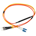 Patchcord mode conditioning LC/PC-ST/PC MM 62,5/125, Duplex 2 mm, 3 meter